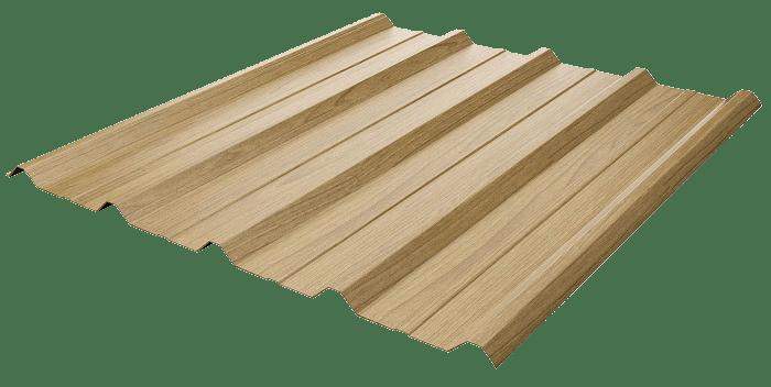 Tôn vân gỗ giá rẻ