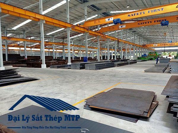 Thép tấm C45 được phân phối bởi Đại lý sắt thép MTP