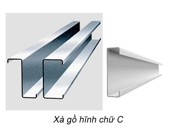 Xà gồ hình chữ C