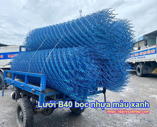 Lưới B40 bọc nhựa là gì?