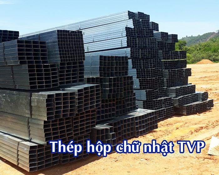Giá thép hộp TVP mới cập nhật hôm nay