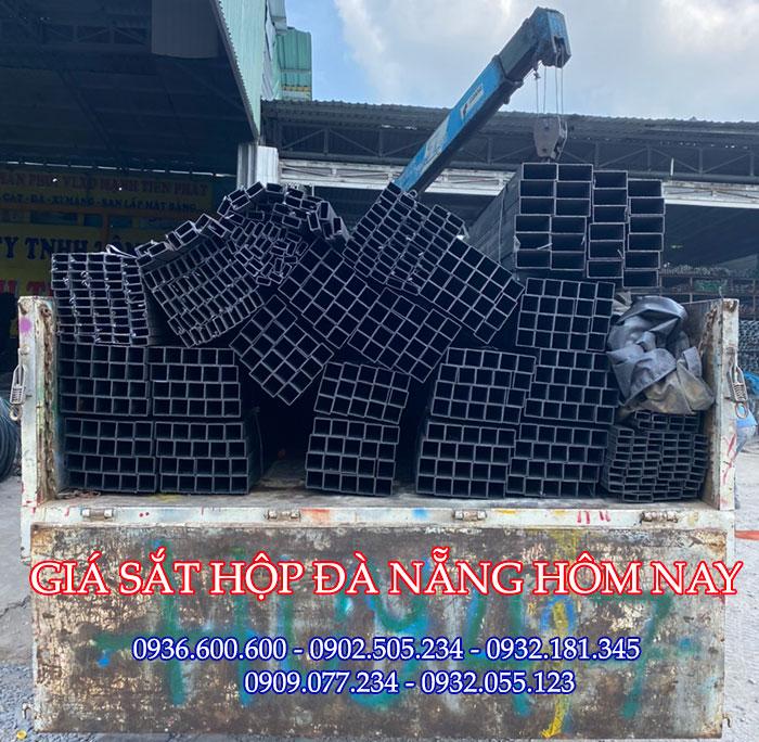 Giá sắt hộp tại Đà Nẵng mới cập nhật hôm nay