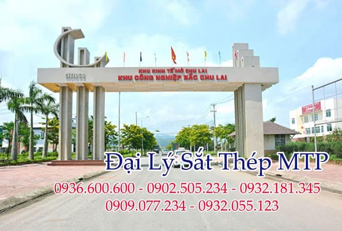 Đại lý sắt thép MTP cung cấp thép ống cho các khu công nghiệp của tỉnh Quảng Nam