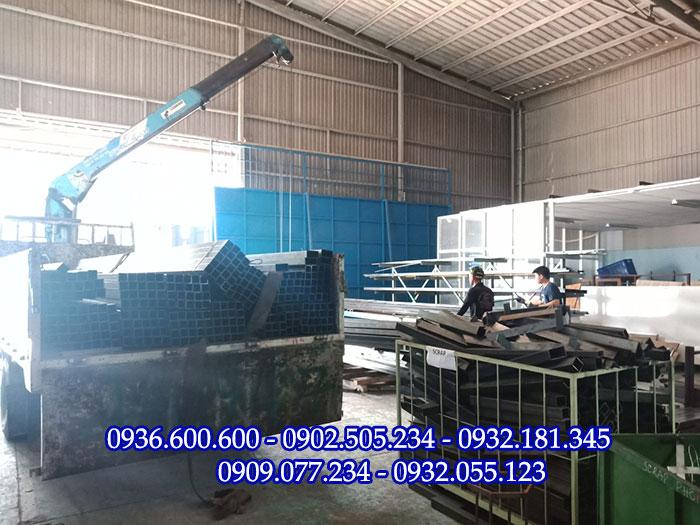 MTP cung cấp sắt hộp cho hầu hết các khu công nghiệp Đà Nẵng