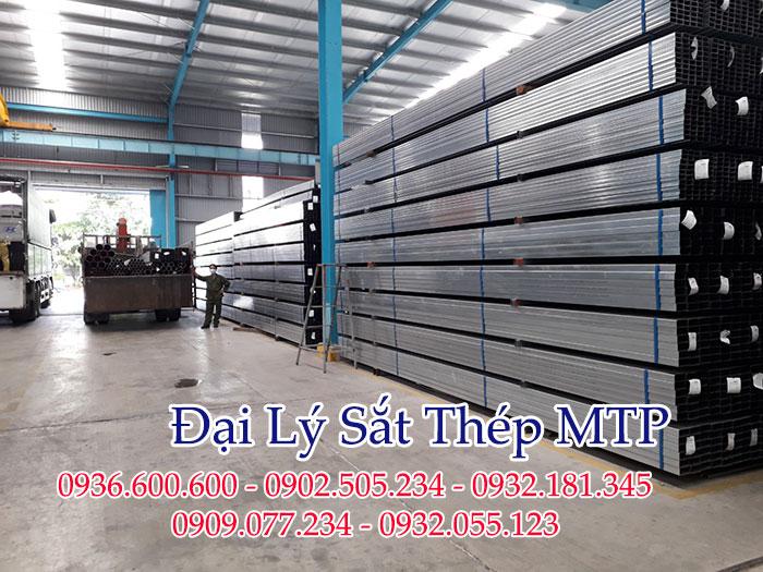 Đại lý sắt thép MTP cung cấp thép hộp cho các khu công nghiệp của tỉnh Bình Định