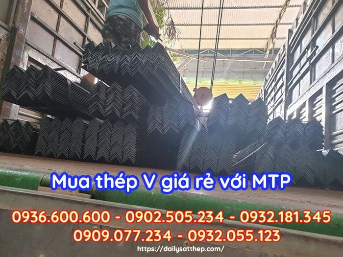 Đại Lý Sắt Thép MTP - Nhà cung cấp thép chữ V Thái Nguyên giá rẻ