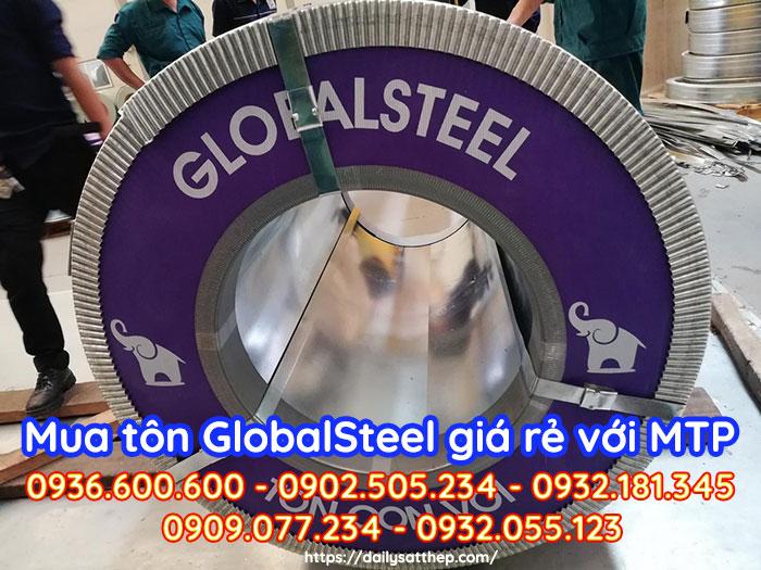 Giá tôn Globalsteel, Báo giá tôn con voi Globalsteel mới nhất