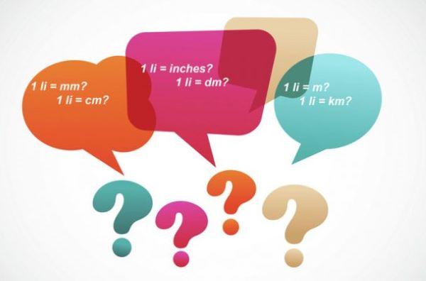1 ly bằng bao nhiêu mm, dm, cm, m, km,...?