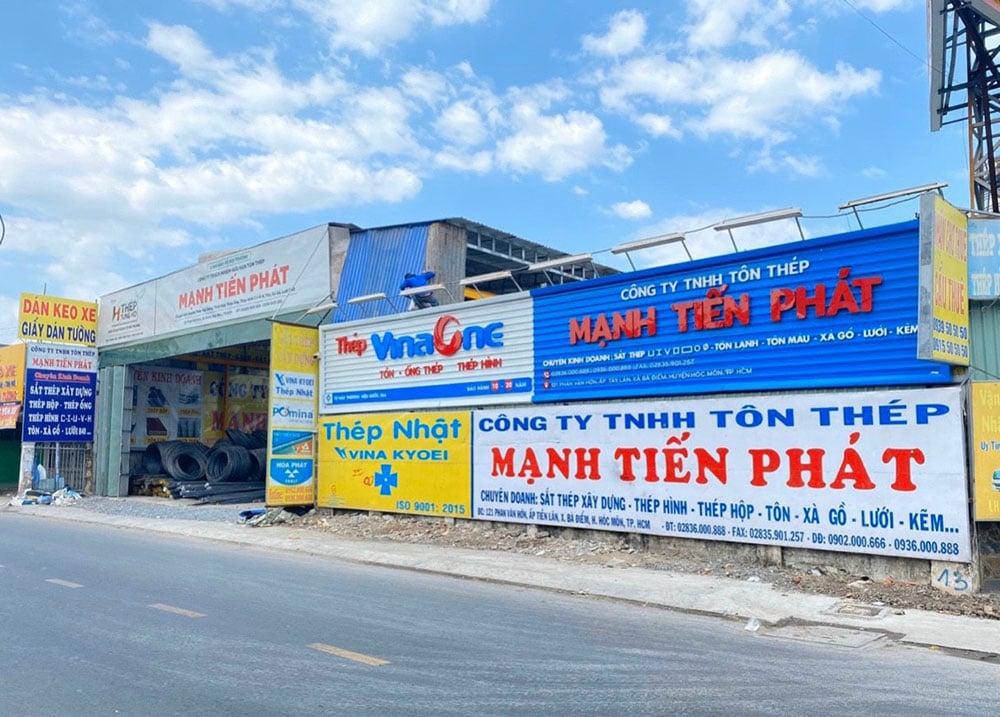 Công ty Tôn Thép Mạnh Tiến Phát - Đại lý sắt thép MTP
