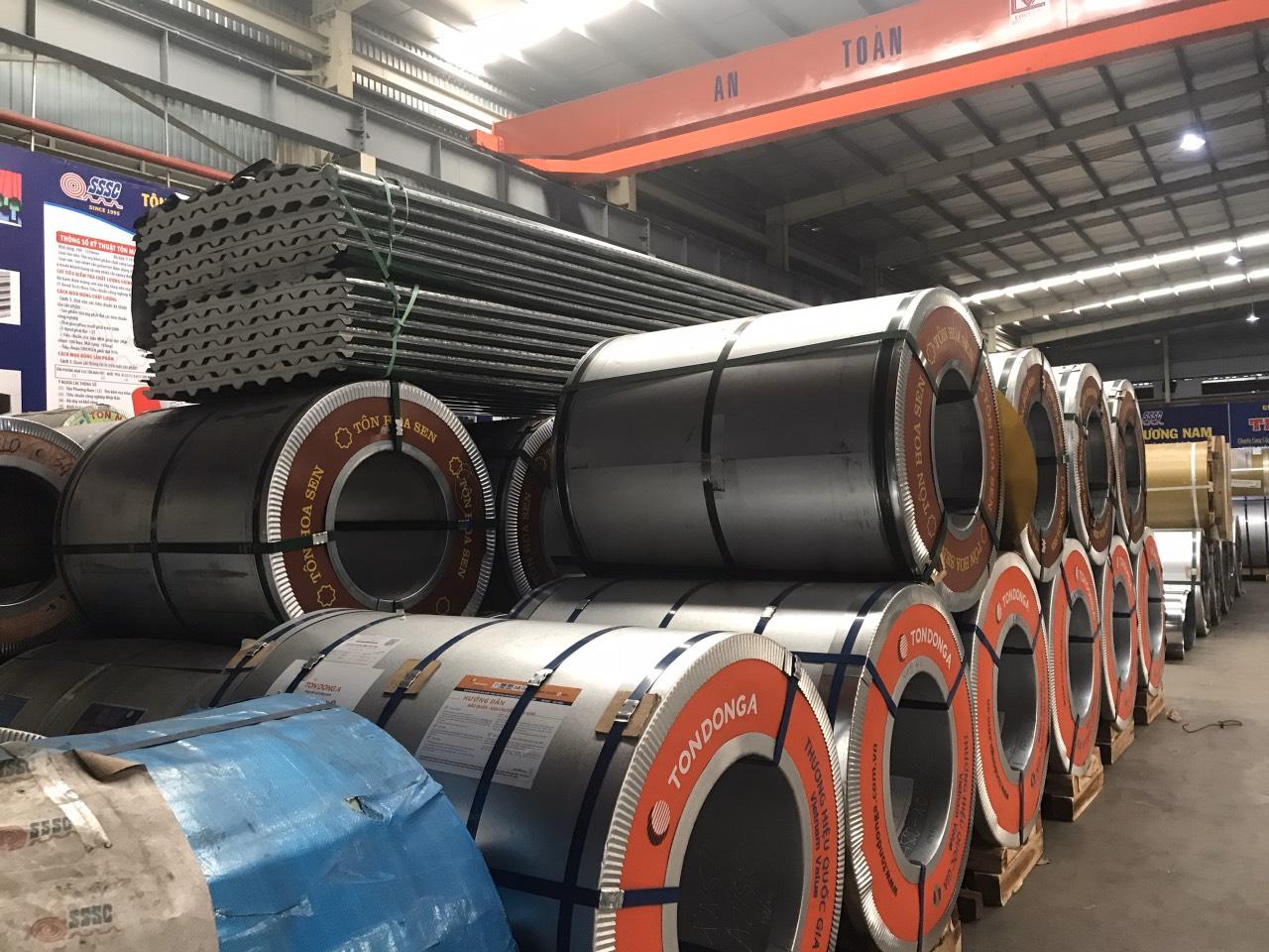 Tôn cuộn kẽm lạnh Đông Á có rất nhiều ưu điểm vượt trội so với dòng sản phẩm tôn thông thường