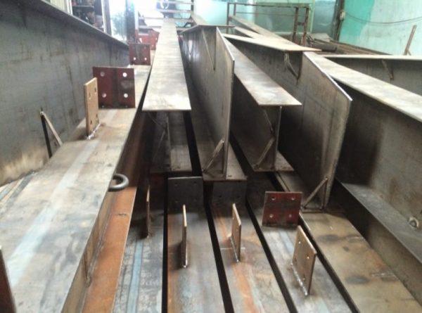 Sắt tổ hợp được sử dụng trong rất nhiều công trình xây dựng lớn