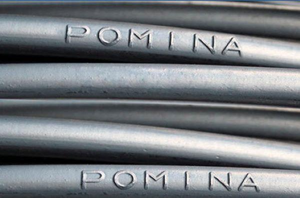 Thép Pomina bao gồm thép cuộn và thép thanh vằn