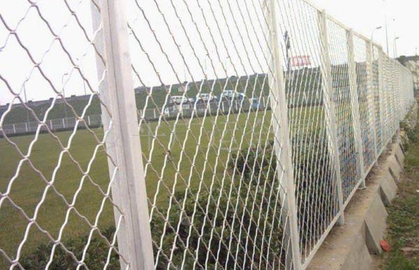 Lưới B40 được sử dụng làm hàng rào của các công trình xây dựng hoặc nông nghiệp