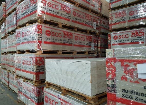 Tấm xi măng Smartboard được sản xuất bởi tập đoàn SCG Thái Lan